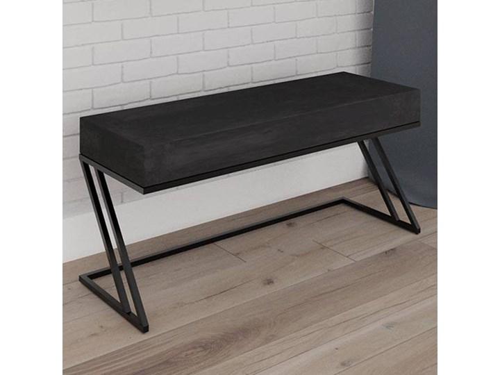 Nowoczesna ławka IRON Z z tapicerowanym siedziskiem