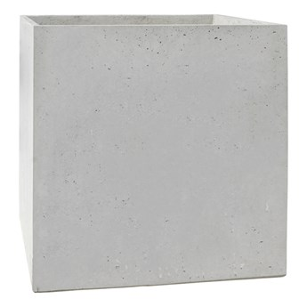 Donica betonowa BLOCK XL 92x92x92 szary naturalny
