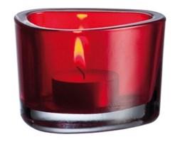 Świecznik czerwony Leonardo Ogranic L-036658 + Transport juz od 8,90 zł