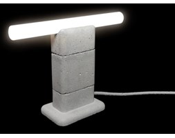 Lampa Stołowa-MinimaLinia Beton Architektoniczny 30