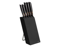 Zestaw 5 noży w bloku Fiskars Edge - POLSKA DYSTRYBUCJA 978791 + Transport juz od 8,90 zł - NATYCHMIASTOWA WYSYŁKA !!