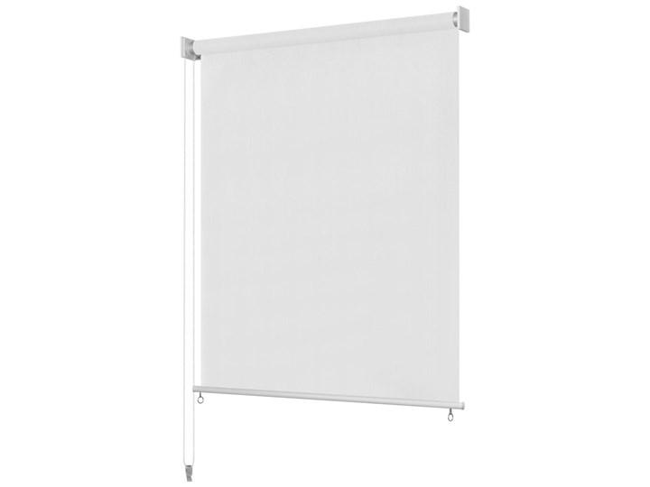 vidaXL Roleta zewnętrzna, 400x140 cm, biała
