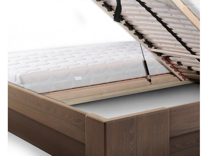 Vanes łóżko z pojemnikiem Mbox MAXI, z drewna bukowego, rozmiar 160x200, kolor DĄB