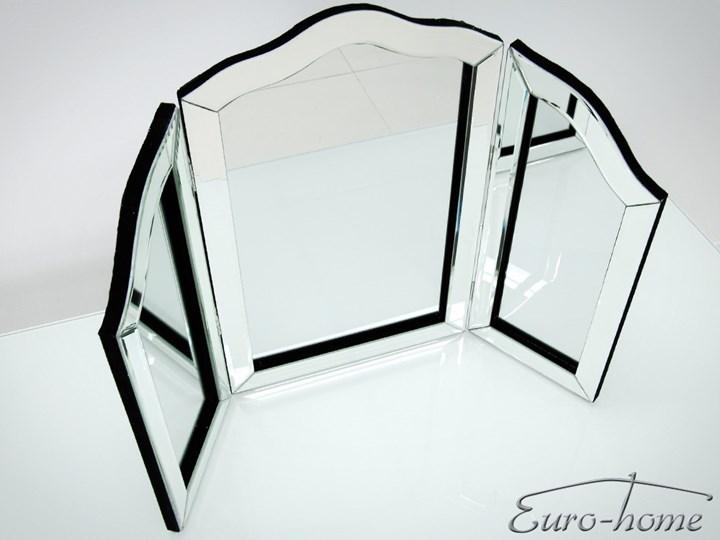 TRZYCZĘŚCIOWE LUSTRO NA TOALETKĘ 12TM179  54x78cm Lustro z ramą Nieregularne Stojące Kategoria Lustra