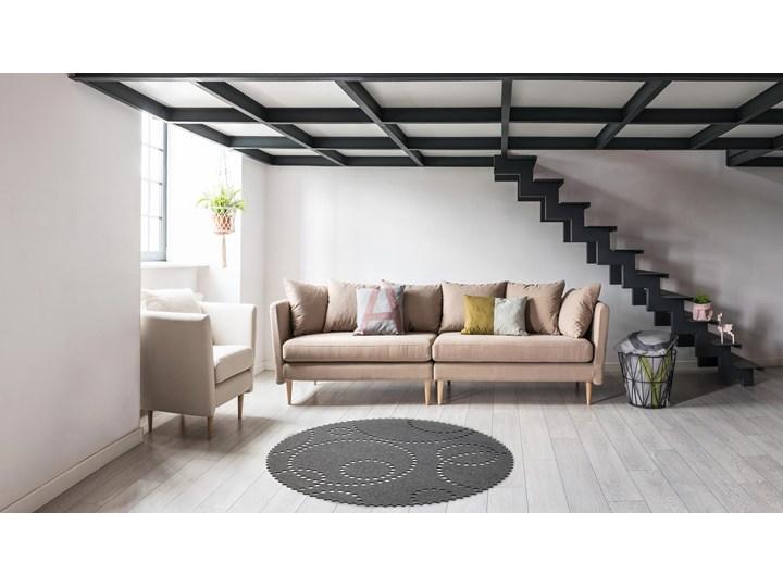 Sofa 3-osobowa Joleen, Golden Velvet Boki Z bokami Głębokość 88 cm Stała konstrukcja Funkcje Bez dodatkowych funkcji