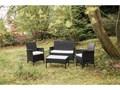 Zestaw mebli ogrodowych ze sztucznego rattanu Le Bonom Fila Kategoria Zestawy mebli ogrodowych Zestawy wypoczynkowe Zawartość zestawu Sofa