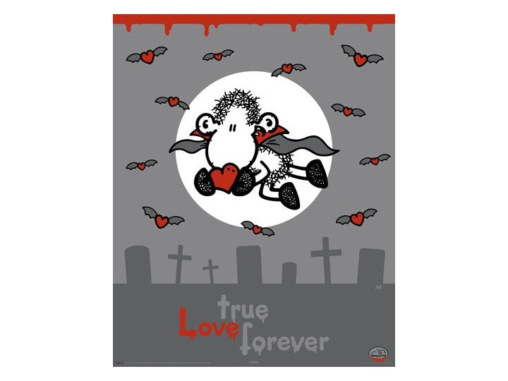 Sheepworld Vampire Plakat Plakaty Zdjęcia Pomysły