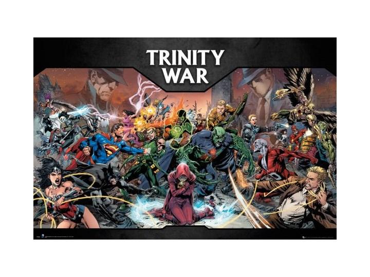 Dc Comics Trinity War Plakat Plakaty Zdjęcia Pomysły