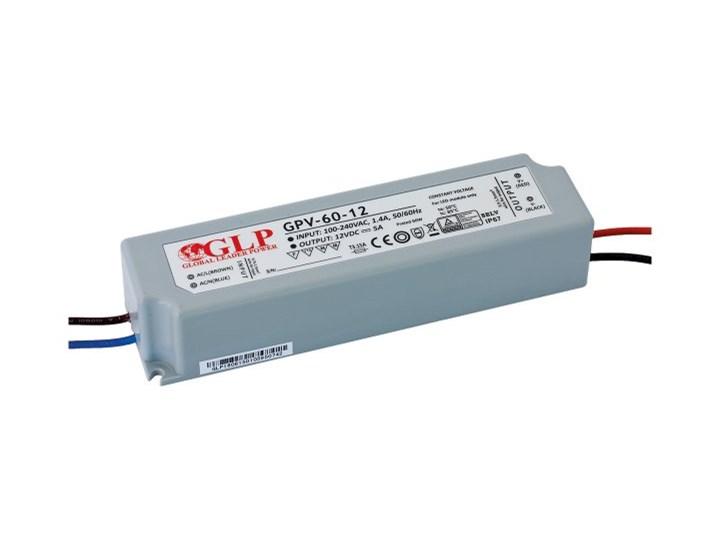 GLP GPV-60-12 ZASILACZ LED 60W 5A DC 12V IP67 STAŁONAPIĘCIOWY HERMETYCZNY