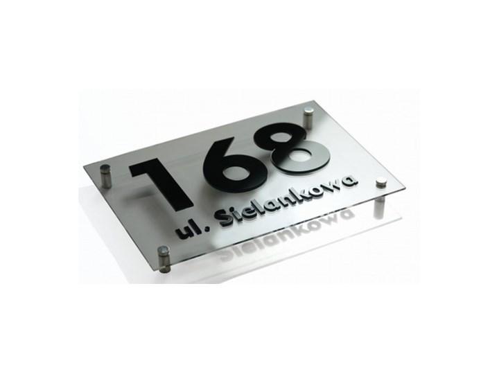 Tabliczka adresowa na dom 3d 20x30 Oznaczenia Kategoria Tablice i litery