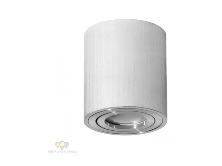 LAMPA NATYNKOWA SPOT TUBA KOBI OH36L ALUMINIUM/CHROM Oprawa stropowa
