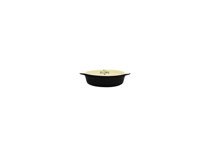 Black&Cream forma do zapiekania Kolor Czarny Ceramika Naczynie do zapiekania Kategoria Naczynia do zapiekania