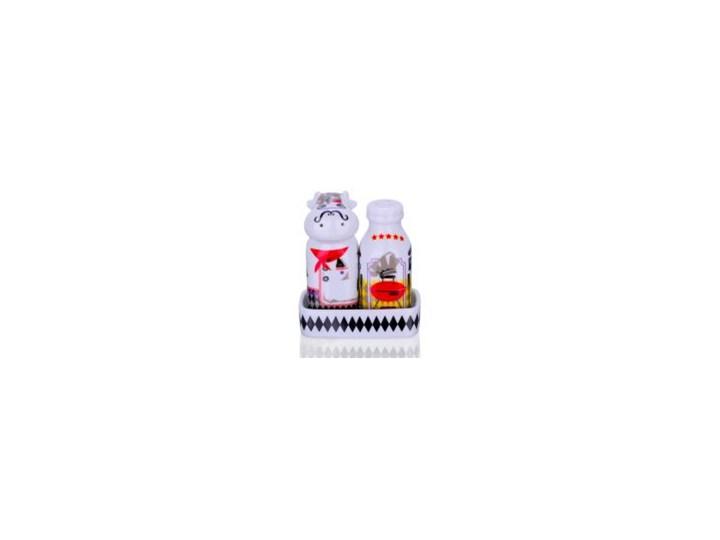 Zestaw solniczka i pieprzniczka - Królowie Grilla Zestaw do przypraw Ceramika Kategoria Przyprawniki