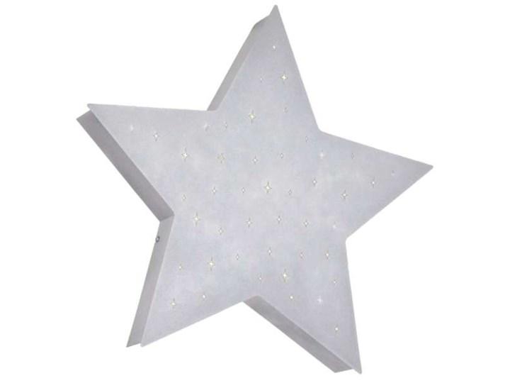 Plafon LAMPA sufitowa ADX 835PL/H21 gwiazda OPRAWA metalowa do pokoju dziecięcego star szara