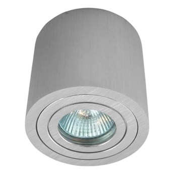 Sufitowa oprawa natynkowa, okrągła, tuba, aluminium hermetyczna 202 aluminiowa