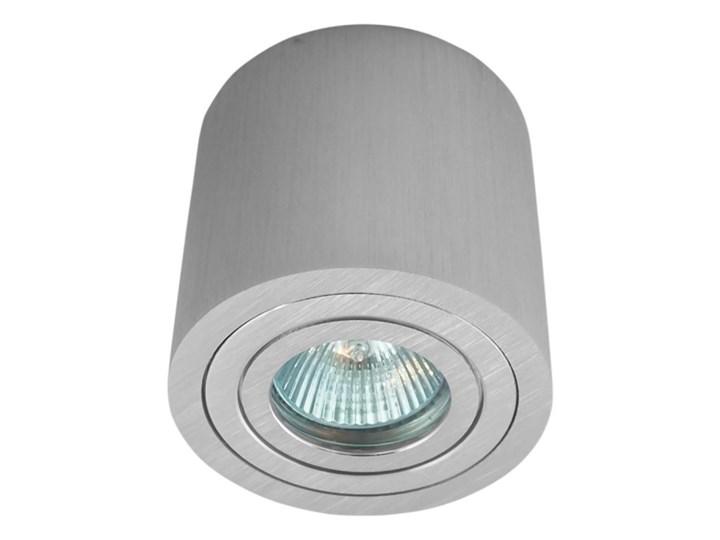 Sufitowa oprawa natynkowa, okrągła, tuba, aluminium hermetyczna 202 aluminiowa Okrągłe Oprawa halogenowa Oprawa stropowa Kategoria Oprawy oświetleniowe