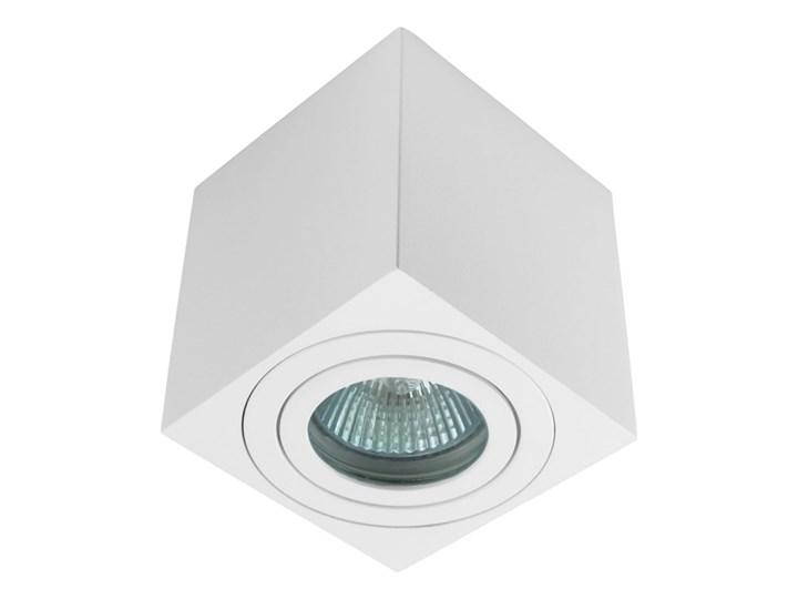 Oprawa natynkowa kostka alumininiowa biała HDL 201 WH hermetyczna Oprawa stropowa