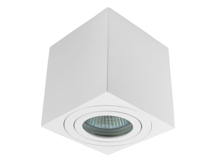Oprawa natynkowa kostka alumininiowa biała HDL 201 WH hermetyczna Oprawa stropowa Kwadratowe Oprawa halogenowa Kolor Biały