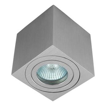 Oprawa natynkowa kostka aluminium szczotkowane HDL201 AL hermetyczna aluminiowa