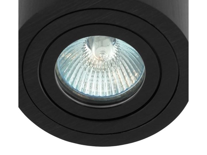 Sufitowa oprawa natynkowa, okrągła, tuba, czarna hermetyczna HDL202 BK czarna Oprawa halogenowa Okrągłe Kolor Czarny Oprawa stropowa Kategoria Oprawy oświetleniowe