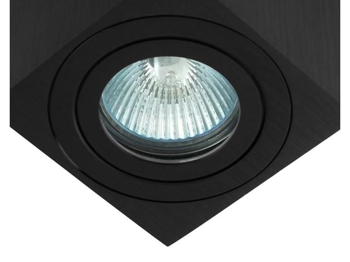 Oprawa natynkowa kostka alumininiowa czarna HDL201 BK hermetyczna Oprawa stropowa Kwadratowe Oprawa halogenowa Kolor Czarny