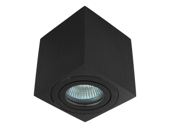 Oprawa natynkowa kostka alumininiowa czarna HDL201 BK hermetyczna Oprawa stropowa Oprawa halogenowa Kwadratowe Kolor Czarny Kategoria Oprawy oświetleniowe