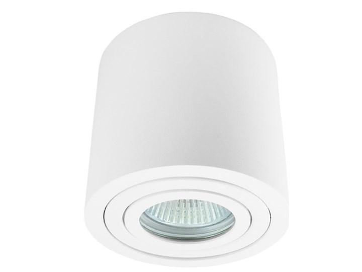 Sufitowa oprawa natynkowa, okrągła, tuba, biała hermetyczna HDL202 WH biała Oprawa halogenowa Oprawa stropowa Okrągłe Kolor Biały