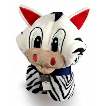Przytulanka, kocyk w jednym Zebra kod: ET-Z