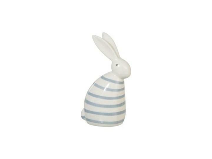 Dekoracja Rabbit Strip niebieski jasny Ceramika Ceramika