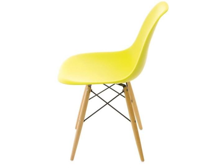 Krzesło P016W PP dark olive, drewniane nogi Tworzywo sztuczne Drewno Drewno Tworzywo sztuczne Tworzywo sztuczne Drewno