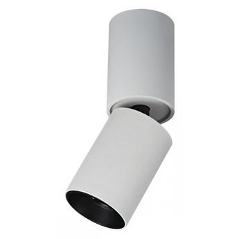 LUNARO oprawa natynkowa 1 x 12W lampa sufitowa punktowa techniczna ruchoma oczko ITALUX SLC78009/12W WH+BL