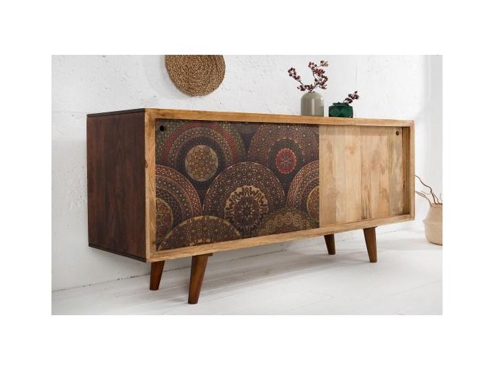 Kredens mandala 160 cm mango 38729 Drewno Drewno Drewno