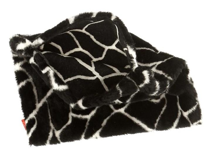 Poduszka dekoracyjna z futra ŻYRAFA Prostokątne Poszewka dekoracyjna Futro ekologiczne Wzór Zwierzęcy 40x50 cm Pomieszczenie Salon