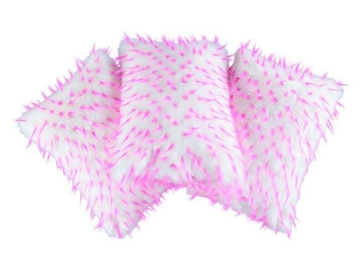 Poduszka dekoracyjna z futra JEŻYK 40x50 cm Futro ekologiczne Poszewka dekoracyjna Prostokątne Pomieszczenie Pokój przedszkolaka