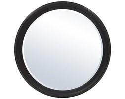 RUOTA duże lustro okrągłe czarnobrązowe, Ø 92 cm