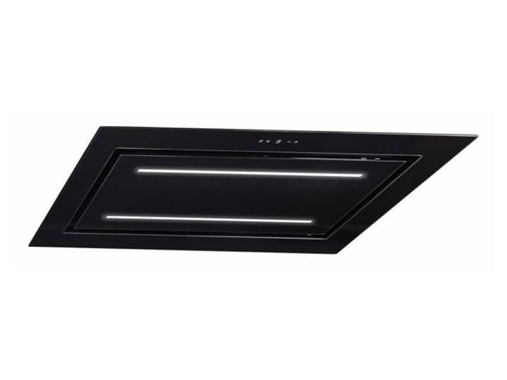Okap sufitowy Grand Super Slim Black 96 cm Kategoria Okapy