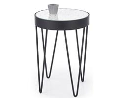 Designerski stolik w stylu industrialnym Naturo biały
