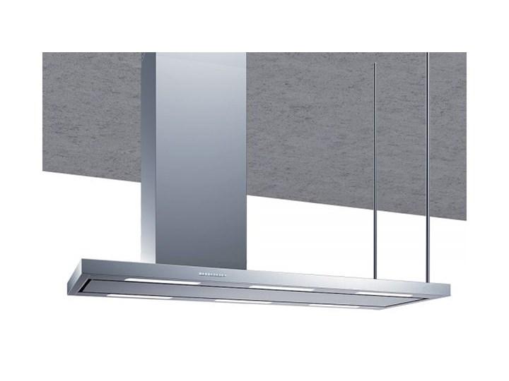 Okap wyspowy Metropolis INOX 116 cm Szerokość 120 cm Sterowanie Elektroniczne