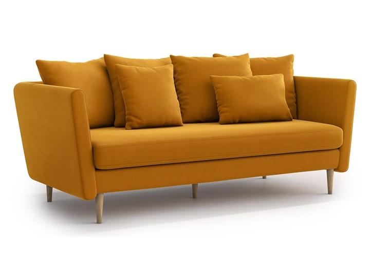 Sofa 3-osobowa Joleen, Golden Velvet Pomieszczenie Salon Głębokość 88 cm Stała konstrukcja Kategoria Sofy i kanapy