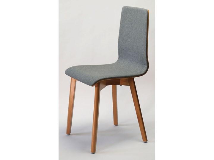 LUKA SOFT W krzesło bukowe, jasno szara tkanina 07 Tapicerowane Głębokość 41 cm Głębokość 40 cm Wysokość 87 cm Drewno Szerokość 42 cm Płyta MDF Styl Nowoczesny