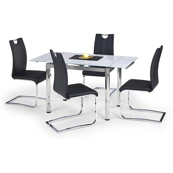 Rozkładany stół PROMEX biały