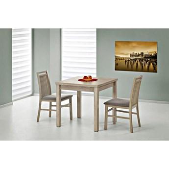 Rozkładany stół kwadratowy GRACJAN 80x80 cm - 4 kolory