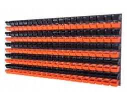 Tablica narzędziowa do garażu i 200 pojemników