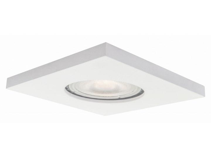 LAGOS 1 oprawa wpuszczana 1 x 50W GU10 kwadratowa biała szczelna prosta IP65 Light Prestige  LP-440/1RS WH square Oprawa stropowa Oprawa halogenowa Kwadratowe Oprawa led Oprawa dekoracyjna Kolor Biały