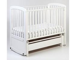 Łóżeczko dziecięce - kołyska De Lux Glider Cot 120x60 TROLL NURSERY (k. biały)