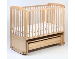 Łóżeczko dziecięce - kołyska De Lux Glider Cot 120x60 TROLL NURSERY (k. naturalny)