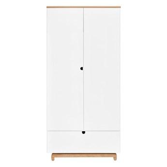 NOMI szafa 2 - drzwiowa biała