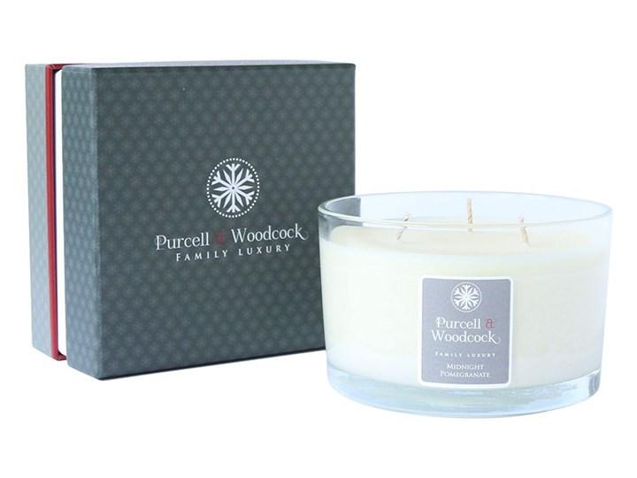 Świeca zapachowa Midnight Pomegranate, 3-knoty - Purcell & Woodcock - DECOSALON - 100% zadowolonych klientów!