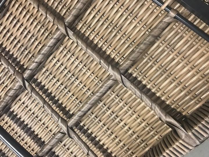 Nowoczesne meble z technorattanu ANTICO sofa 3 osobowa Aluminium Zestawy wypoczynkowe Tworzywo sztuczne Kategoria Zestawy mebli ogrodowych