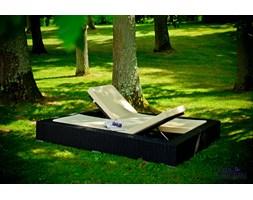 Ekskluzywne łóżko ogrodowe z technorattanu UMILE